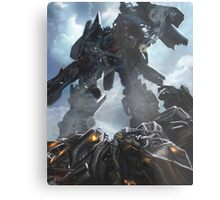 Power Up optimus prime Metal Print