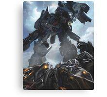 Power Up optimus prime Canvas Print