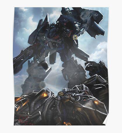 Power Up optimus prime Poster