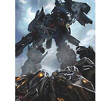 Power Up optimus prime Photographic Print