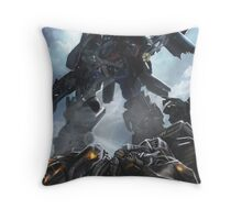 Power Up optimus prime Throw Pillow