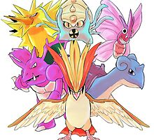Twitch Plays Pokemon - The Team by Foltztron