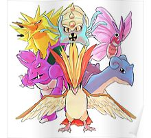 Twitch Plays Pokemon - The Team Poster