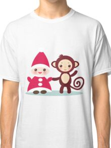 gnome and monkey  Classic T-Shirt