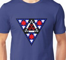 Triangles and Stars Unisex T-Shirt