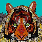 tiger chief (card) by Sharon Turner