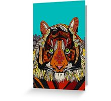 tiger chief (card) Greeting Card