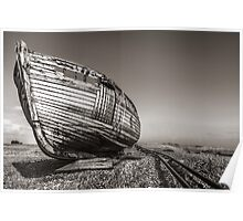 The Old Wooden Boat Poster
