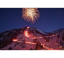 Alta New Year Photographic Print