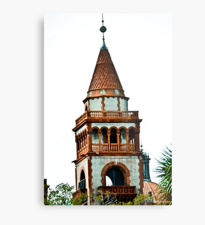 Flagler College turret (once the Ponce de Leon Hotel) Metal Print