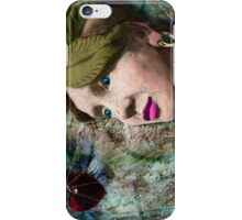 the red heart of a stone lady iPhone Case/Skin