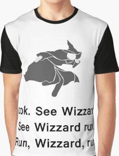 Miscellaneous - run, wizzard, run - gray Graphic T-Shirt