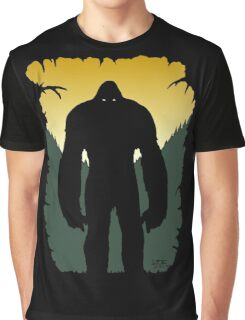Bigfoot Silhouette Graphic T-Shirt
