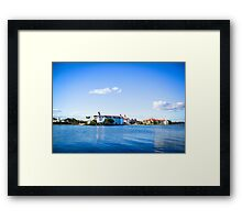 Perfect Day at the Grand Floridian Framed Print