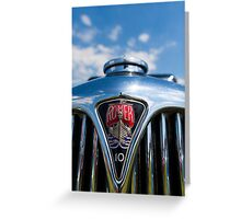Rover 10 grille Greeting Card