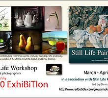 Still Life Workshop graphic by solo-exhibition