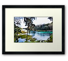 Rainbow Springs State Park Headwaters Framed Print