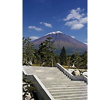 Stairway to Mt. Fuji Photographic Print