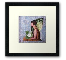 The Girl in The Pearl Necklace Framed Print