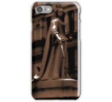 Statue, London, England | Regal Majesty  iPhone Case/Skin