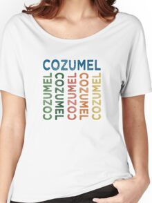 Cozumel Cute Colorful Women's Relaxed Fit T-Shirt