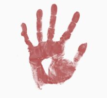 Bloody Handprint by Macbuk