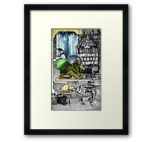 The Incredible Penguin. Framed Print