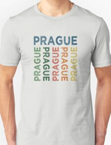 Prague Cute Colorful T-Shirt