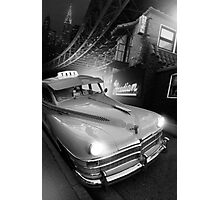 Metropolis Cab Photographic Print