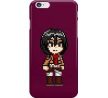 Attack on Titan - Mikasa Ackerman Pixel iPhone Case/Skin