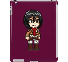 Attack on Titan - Mikasa Ackerman Pixel iPad Case/Skin