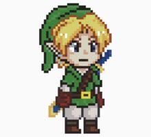 Legend of Zelda - Link Pixel by geekmythology