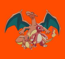 Charmander Evol Kids Clothes