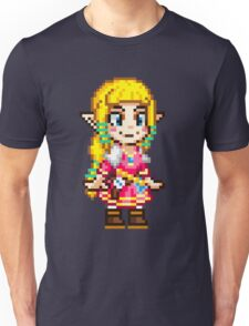 Skyward Sword - Zelda Pixel Unisex T-Shirt