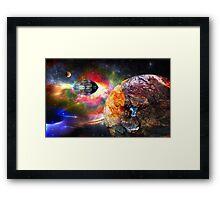 Rogue World Framed Print
