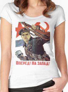 Soviet Sailor Tee Women's Fitted Scoop T-Shirt