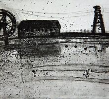 Industrial Juxtaposition by ROSEMARY EAGLE