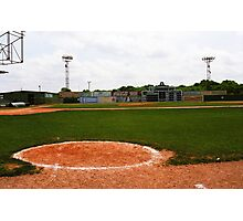 View From the Dugout Photographic Print
