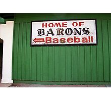 Rickwood Field Photographic Print
