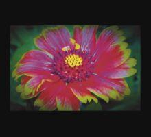 Blanket flower macro Kids Tee