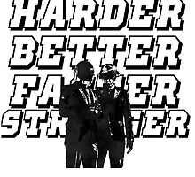 Harder, Better, Faster, Stronger by McFloyd