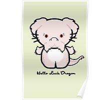Hello Luck Dragon Poster