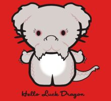 Hello Luck Dragon Kids Tee