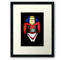 Joke Dredd Framed Print