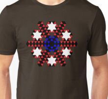 Triangles, Stars and Hexagons Unisex T-Shirt