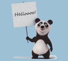 Funny, funny Panda! One Piece - Short Sleeve