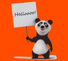 Funny, funny Panda! Kids Tee
