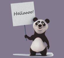 Funny, funny Panda! Kids Clothes