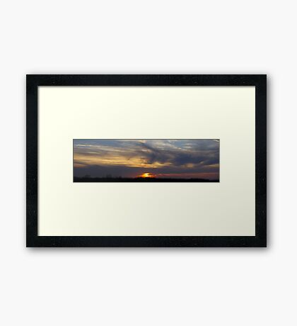 Tranquil Evening Framed Print