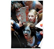 Zombie Cleaver Attack Poster